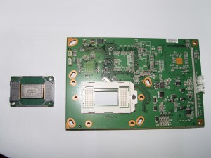 replace 4719-001997 DLP Chip in the Mitsubishi WD-60735 RPTV