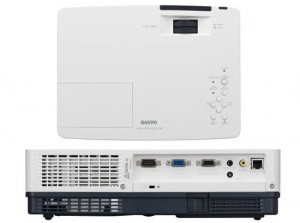 Sanyo PLC-XW200 Projector, Sanyo POA-LMP132 (service parts no 610 345 2456)