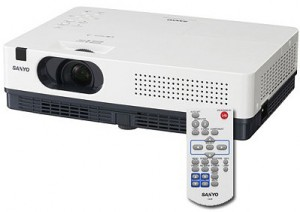 Sanyo PLC-XW300 Projector, Sanyo POA-LMP132 (service parts no 610 345 2456)